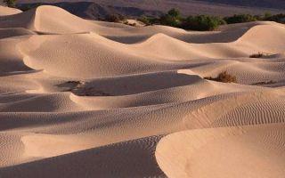 Как появился песок