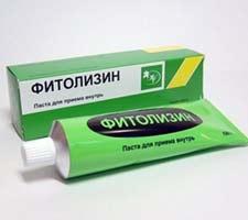 гель при цистите фитолизин