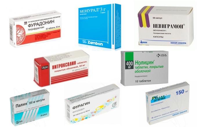 Популярные препараты от цистита