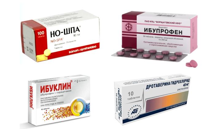 Препараты для устранения болевого синдрома при цистите