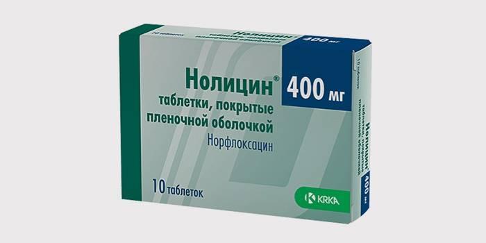 Нолицин для лечения цистита у мужчин