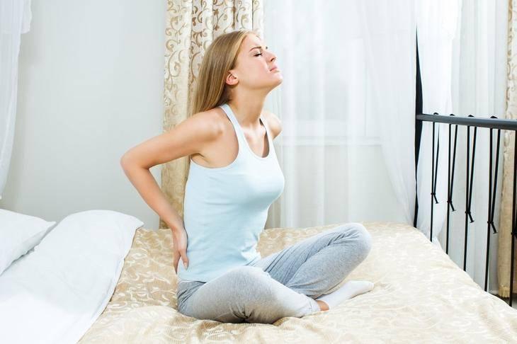 5. Необъяснимая боль в спине