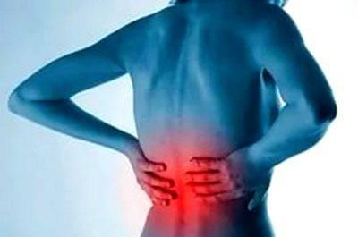 Боль внизу спины