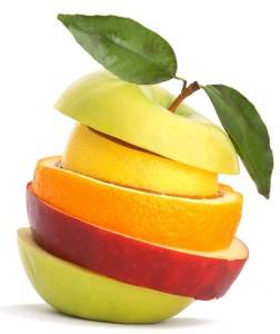 Яблоко из фруктов