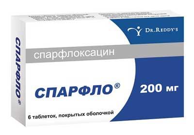 препарат Спарфлоксацин