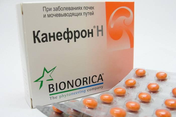 Таблетки канефрон мочегонное средство или нет
