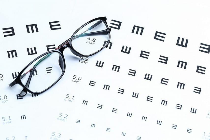 Нужны очки?Таблица для проверки зрения